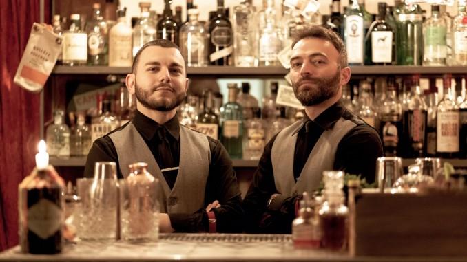 Giambattista Rizzi e Filippo Veneziani , proprietari e bartender del Southside Cocktail Bar di Monopoli 2