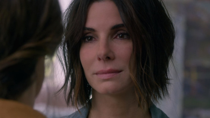 Sandra Bullock in Bird Box per Netflix