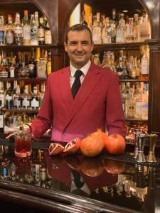 Stefano Santucci head barman Hotel Hassler Roma