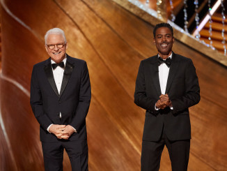 Steve Martin and Chris Rock present at The 92nd Oscars® at the Dolby® Theatre in Hollywood, CA on Sunday, February 9, 2020.