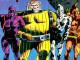 The original Guardians of the Galaxy (1969) Da sinistra a destra: Vance Astrovik, Charlie-27, Martinex T'Naga and Yondo Udonta.