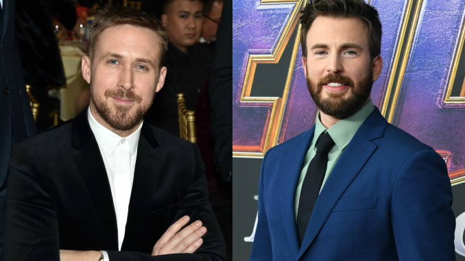 Ryan Gosling e Chris Evans per The Gray Man