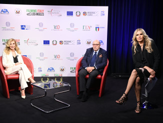 Filming Italy Los Angeles 2021    (Photo by Daniele Venturelli )