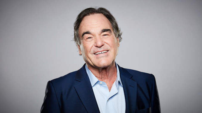 Oliver Stone, by Daniel Bergeron. Indiewire 2016. No PR/No Release on file.