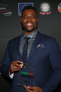 WESTWOOD, CA - JANUARY 22: Winston Duke, at the 2020 Filming Italy Awards at the ArcLight Cinemas in Westwood, California on January 22, 2020. Credit: Faye Sadou/MediaPunch