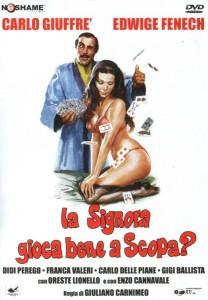 LA SIGNORA GIOCA BENE A SCOPA