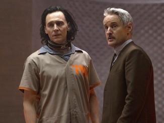 (L-R): Loki (TomHiddleston) and Mobius (Owen Wilson) in Marvel Studios' LOKI, exclusively on Disney+. Photo courtesy of Marvel Studios. ©Marvel Studios 2021. All Rights Reserved.